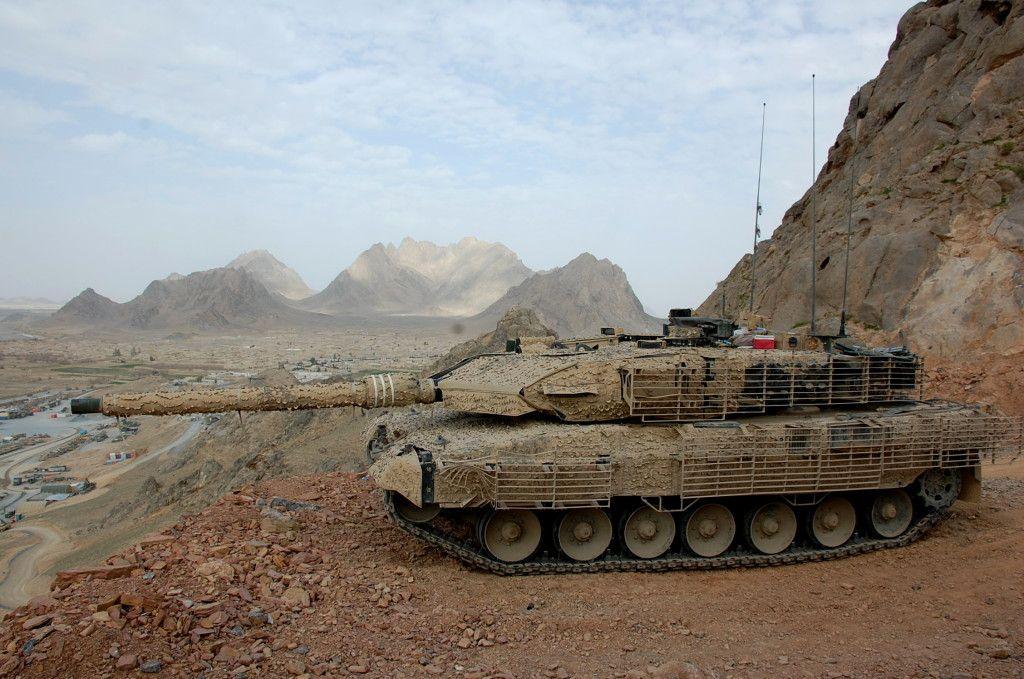 2A6M Leopard in Afaganistan photo's taken by war correspondent DSC_0714