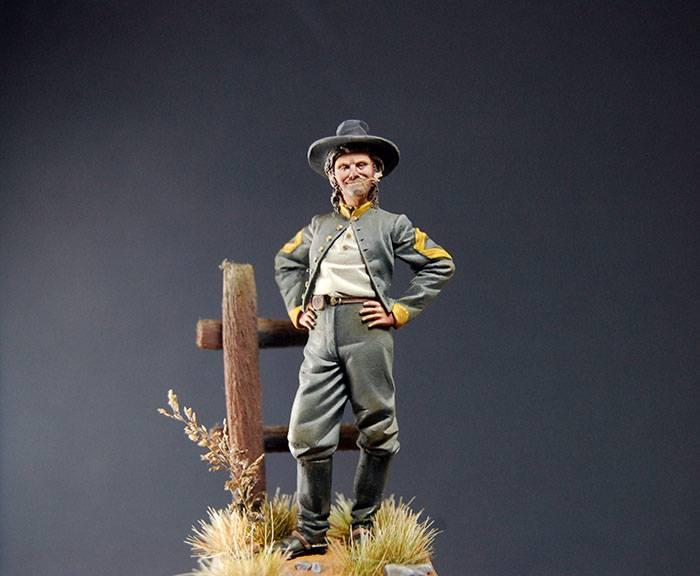 Sergeant Major Confederate Cavalry, 1862 - Art Girona 54mm DSC_1612_700px_zpswmscoedt