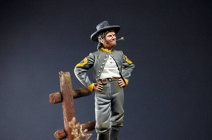 Sergeant Major Confederate Cavalry, 1862 - Art Girona 54mm DSC_1622_700px_zps3id7ft9g