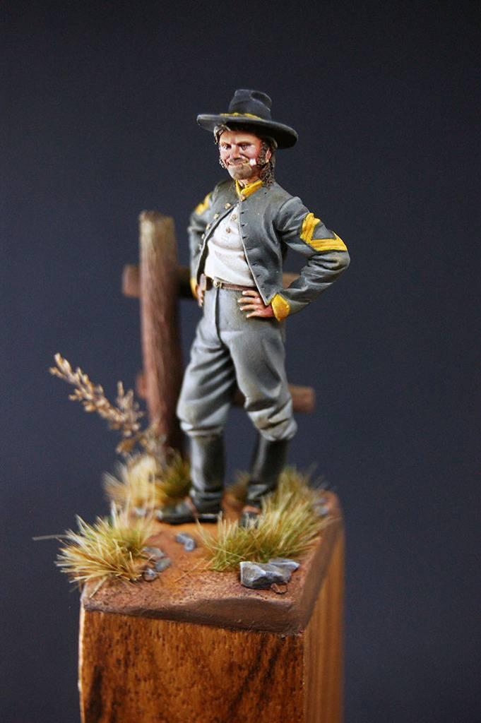 Sergeant Major Confederate Cavalry, 1862 - Art Girona 54mm DSC_1625_700px_zpsl3oqdx4v