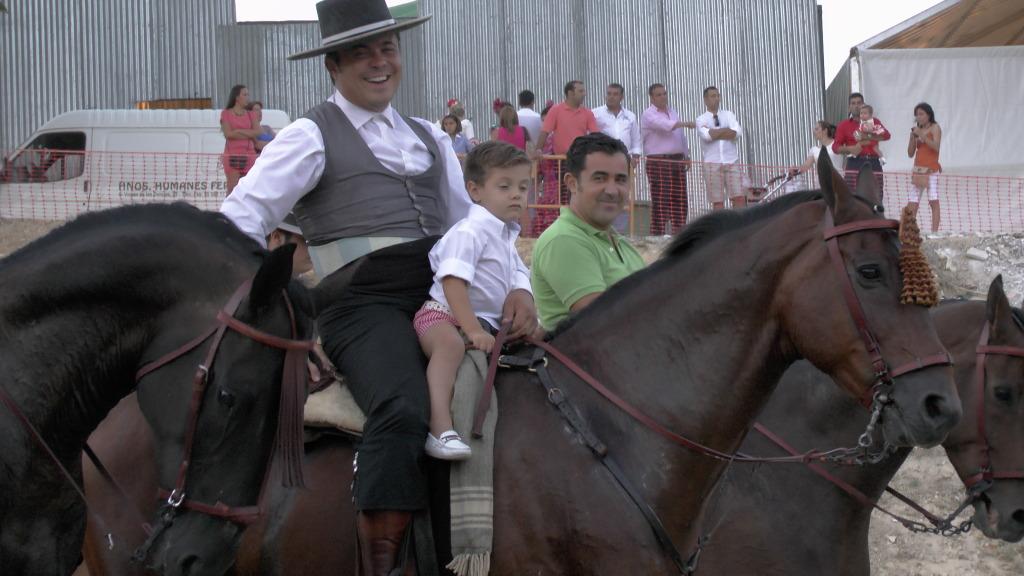 Feria Arahal 2012: Concurso de doma vaquera de caballos Ab552d28