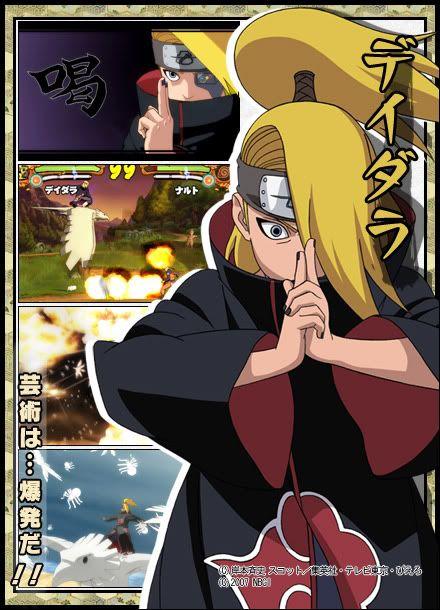 ¿Cual es tu ninja favorito? Deidara