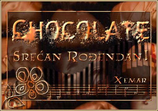 Chocolate sve najlepse ... CHOCORodendan