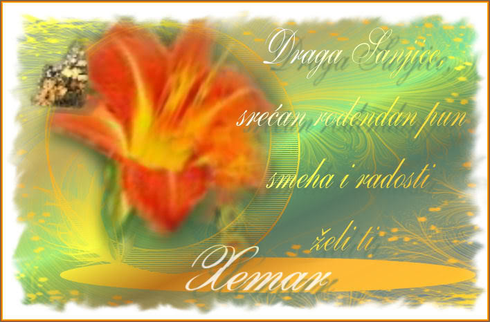 Sanjasanja,od srca ti zelimo... ESTITKAZASANJASANJU