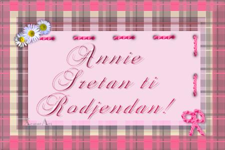 Annie Sreæan Roðendan! ANNIE
