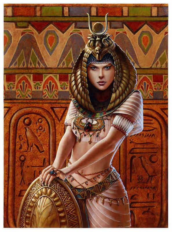 Isis Goddess of Fertility and Domestication Isis-5