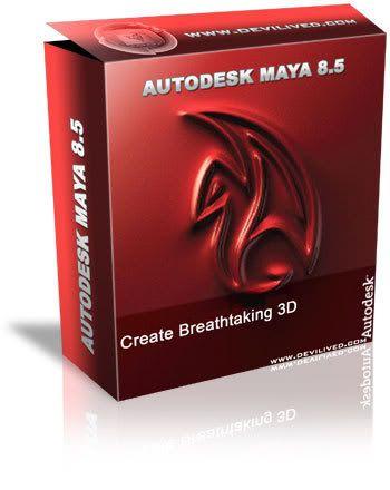 Autodesk MAYA V8.5 Maya-box