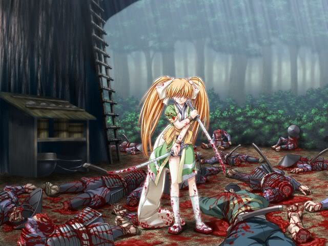 انمي مرعب Deathgirl