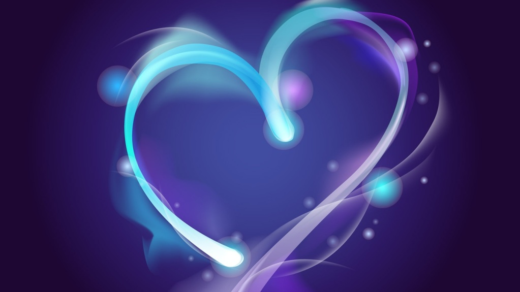 Wallpaper Blue-aura-of-love_1366x768