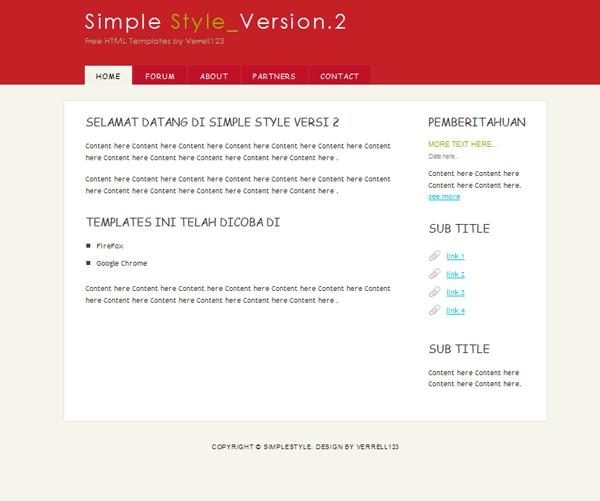Website Design Simplestyle2