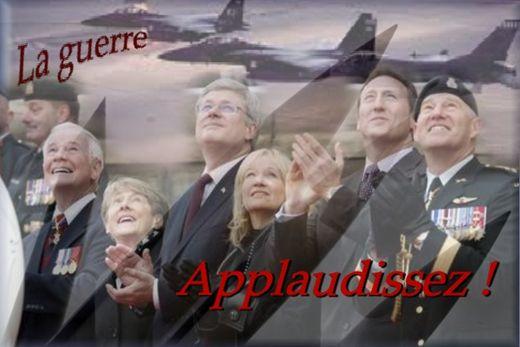 NOUVEL ORDRE MONDIAL : DE QUOI SE COMPOSE-T-IL, ET QUELS SONT SES BUTS ? - Page 25 La_guerre_applaudissez_zpsaf570c3e