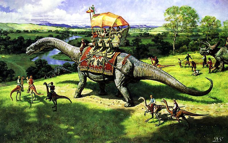 MESSAGES POUR NOTRE TEMPS... MenRidingDinosauruses-Brontosaurus-Triceratops_zpscc5a8e00