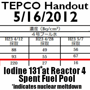 DEPOPULATION VIA LA TECHNOLOGIE NUCLEAIRE - Page 2 Tepco-Data-Shows-Nuclear-Meltdown-In-Fukushima-Reactor-4-Spent-Fuel-Pool