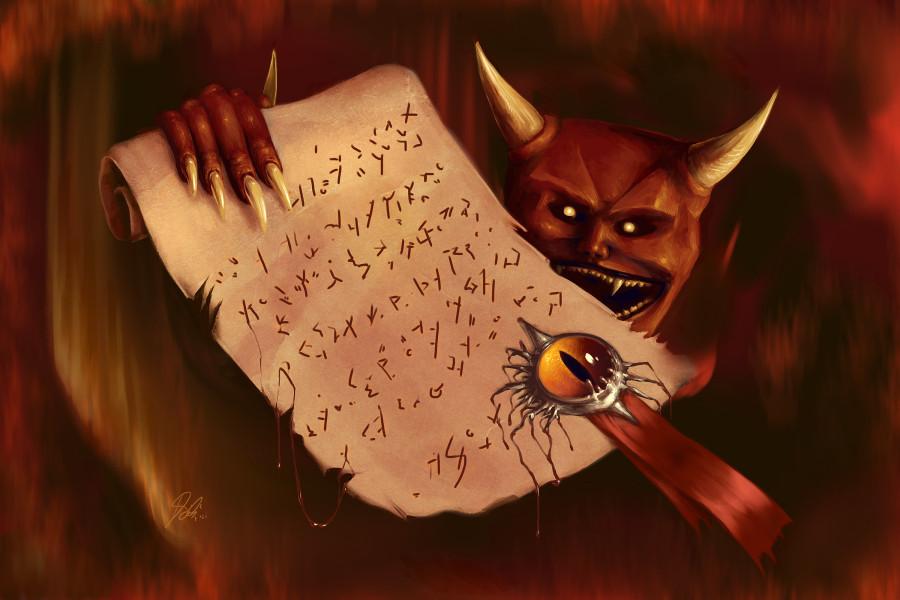 2013-2016 : 666, PUCES IMPLANTABLES, RFID, NANOTECHNOLOGIES, NEUROSCIENCES, N.B.I.C., TRANSHUMANISME ET CYBERNETIQUE ! The_Devils_Contract_zps8e82455d