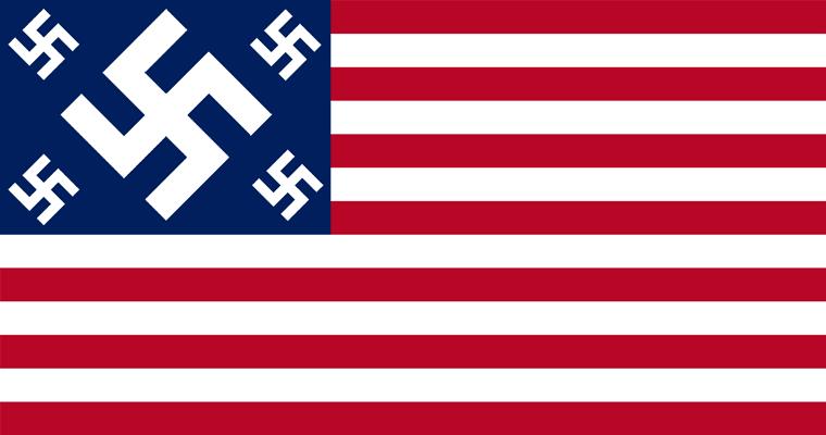 2013-2016 : 666, PUCES IMPLANTABLES, RFID, NANOTECHNOLOGIES, NEUROSCIENCES, N.B.I.C., TRANSHUMANISME ET CYBERNETIQUE ! - Page 3 US_flag_swastika_zps11665ac5