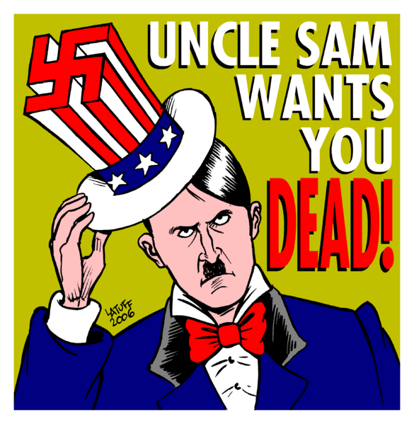 EXPERIMENTATIONS DE MASSE DELIBEREES SUR LES CITOYENS Uncle_Sam_wants_you_DEAD