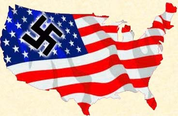 2013 : PISTAGE DES CITOYENS : SATELLITES, CAMERAS, SCANNERS, BASES DE DONNEES, IDENTITE & BIOMETRIE Usa_Nazi_country