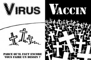 DEPOPULATION VIA LES PANDEMIES FABRIQUEES DE TOUTE PIECE, LES VACCINS TOXIQUES ET LA MEDECINE ALLOPATHIQUE - Page 8 Virus-vaccin