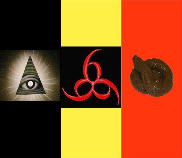 2012 : PISTAGE DES CITOYENS : SATELLITES, CAMERAS, SCANNERS, BASES DE DONNEES, IDENTITE & BIOMETRIE Belgium-flag_shit