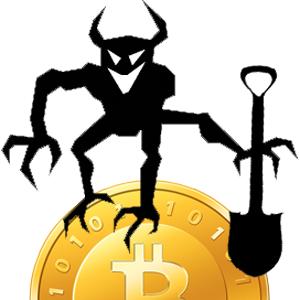 2013-2016 : 666, PUCES IMPLANTABLES, RFID, NANOTECHNOLOGIES, NEUROSCIENCES, N.B.I.C., TRANSHUMANISME ET CYBERNETIQUE ! Bitcoin-devilrobber_zps3cca900b