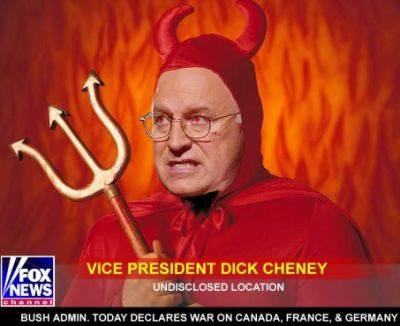 FASCISME, DICTATURE, ETAT-POLICIER, TERRORISME D'ETAT - Page 5 Cheney_satan