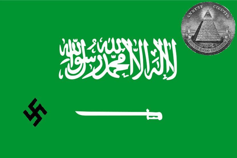 2012 : PISTAGE DES CITOYENS : SATELLITES, CAMERAS, SCANNERS, BASES DE DONNEES, IDENTITE & BIOMETRIE Drapeau-arabie-saoudite-nazi-nwo