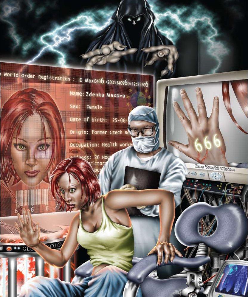2013-2016 : 666, PUCES IMPLANTABLES, RFID, NANOTECHNOLOGIES, NEUROSCIENCES, N.B.I.C., TRANSHUMANISME ET CYBERNETIQUE ! Microchip_mark-of-the-beast_zpscaeeb2ca