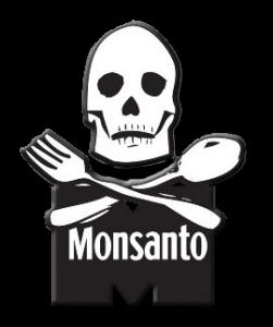 DEPOPULATION VIA LES OGM, LES PESTICIDES, LA DEFORESTATION ET LA POLLUTION DE NOTRE NOURRITURE ET DE NOS EAUX - Page 4 Monsanto-skull_zps5d1291c5