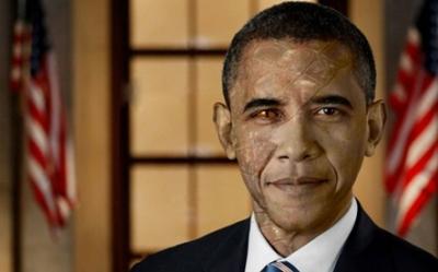 NOUVEL ORDRE MONDIAL : DE QUOI SE COMPOSE-T-IL, ET QUELS SONT SES BUTS ? - Page 25 Obama-reptilien_zpscbdc9ed4