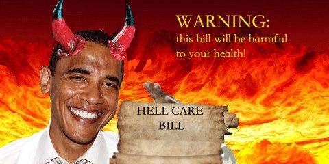 2013-2016 : 666, PUCES IMPLANTABLES, RFID, NANOTECHNOLOGIES, NEUROSCIENCES, N.B.I.C., TRANSHUMANISME ET CYBERNETIQUE ! - Page 4 Obamacare-demon_zps2a7ea327