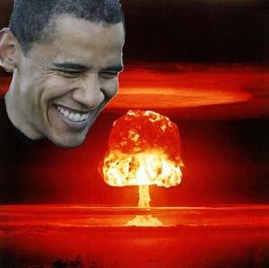 NOUVEL ORDRE MONDIAL : DE QUOI SE COMPOSE-T-IL, ET QUELS SONT SES BUTS ? - Page 25 Obamanuclearlaugh_zps289deae4