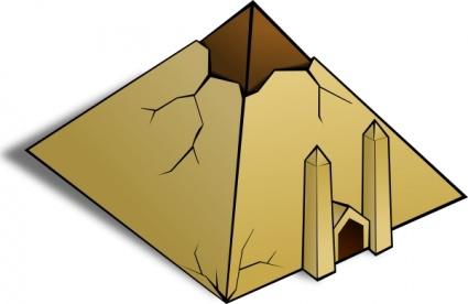 MESSAGES POUR NOTRE TEMPS... Pyramid-clip-art