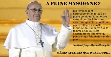 LE PAPE, LE VATICAN & LE NOUVEL ORDRE MONDIAL - Page 11 Papefrancoismysogine-small_zps12ce00a5