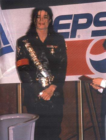 1992- Pepsi & Heal The World Foundation Press Conference 086-1-1