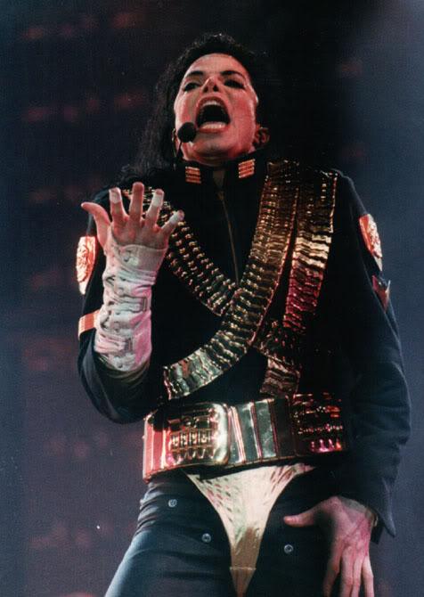 Dangerous World Tour Onstage- Jam 099-1