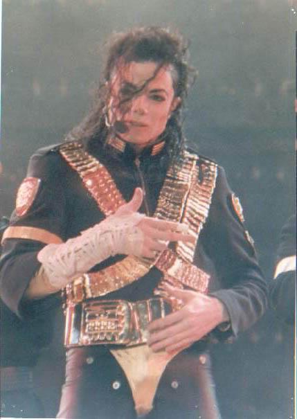 Dangerous World Tour Onstage- Jam 103-1