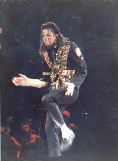 Dangerous World Tour Onstage- Jam 109-1