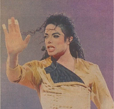 Dangerous World Tour Onstage- Wanna Be Startin' Somethin' - Human Nature 160