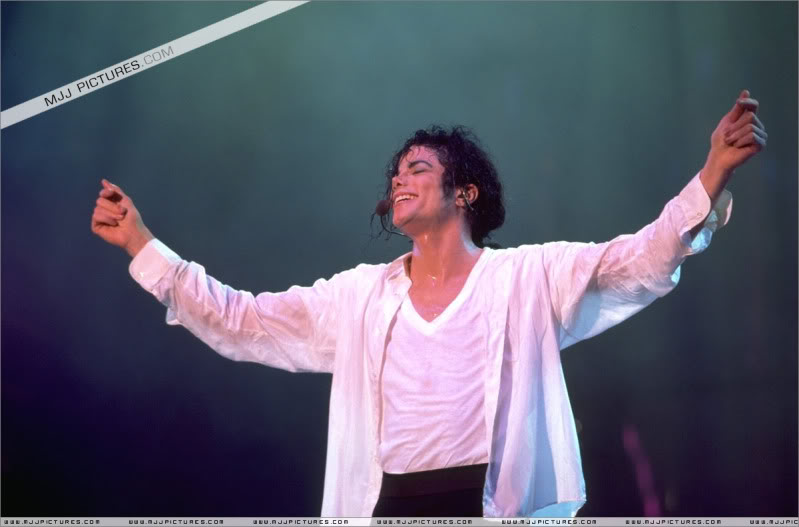 Dangerous World Tour Onstage- Will You Be There 001-7-1