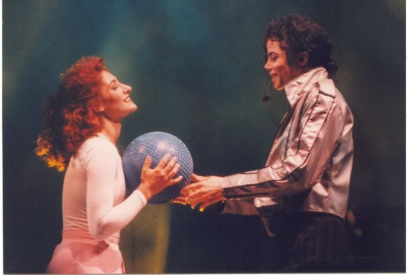 Dangerous World Tour Onstage- Heal The World 004-50