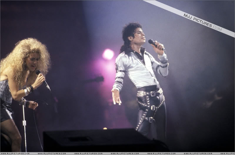 Bad World Tour Onstage- Various 005-2
