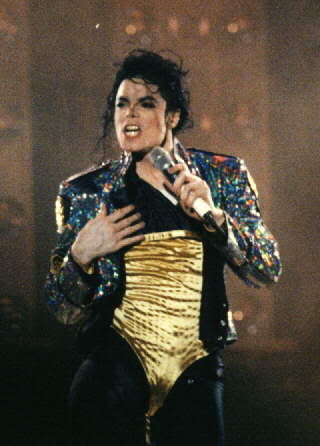 Dangerous World Tour Onstage- Medley Jackson 5 - I'll Be There 005-3-1