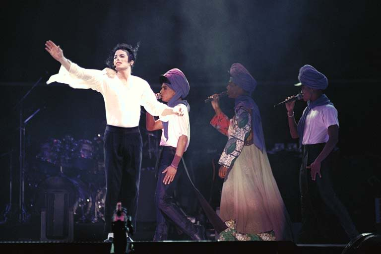 Dangerous World Tour Onstage- Will You Be There 005-7-1