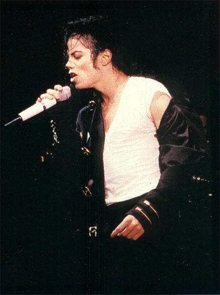 Dangerous World Tour Onstage- Bad 008-38
