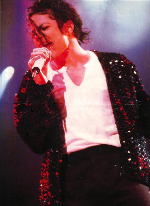 Dangerous World Tour Onstage- Billie Jean 011-37