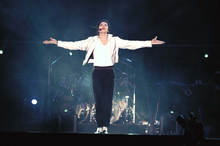 Dangerous World Tour Onstage- Heal The World 011-39
