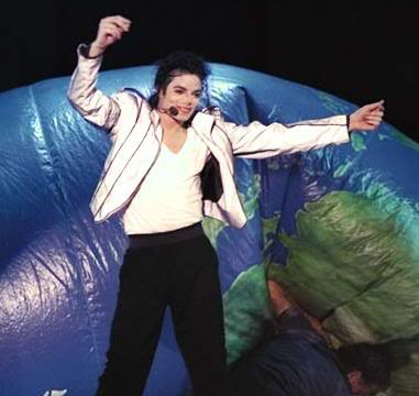Dangerous World Tour Onstage- Heal The World 013-36-1