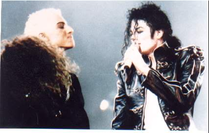 Dangerous World Tour Onstage- Heal The World 014-36-1