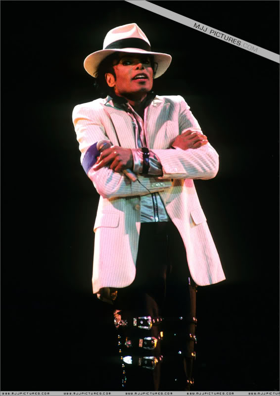 Bad World Tour Onstage- Various 0142