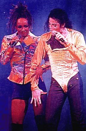 Dangerous World Tour Onstage- I Just Can't Stop Loving You - She's Out Of My Life 019-29